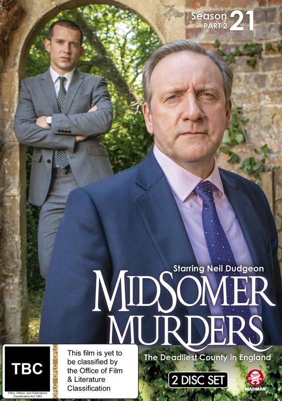 Midsomer Murders: Season 21 - Part 2 on DVD