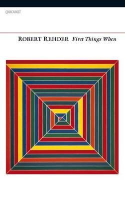 First Things When by Robert Rehder image