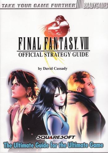 Final Fantasy VIII Official Strategy Guide for PlayStation 2