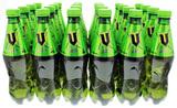 V Green Plastic Bottle 500ml (24 Pack)