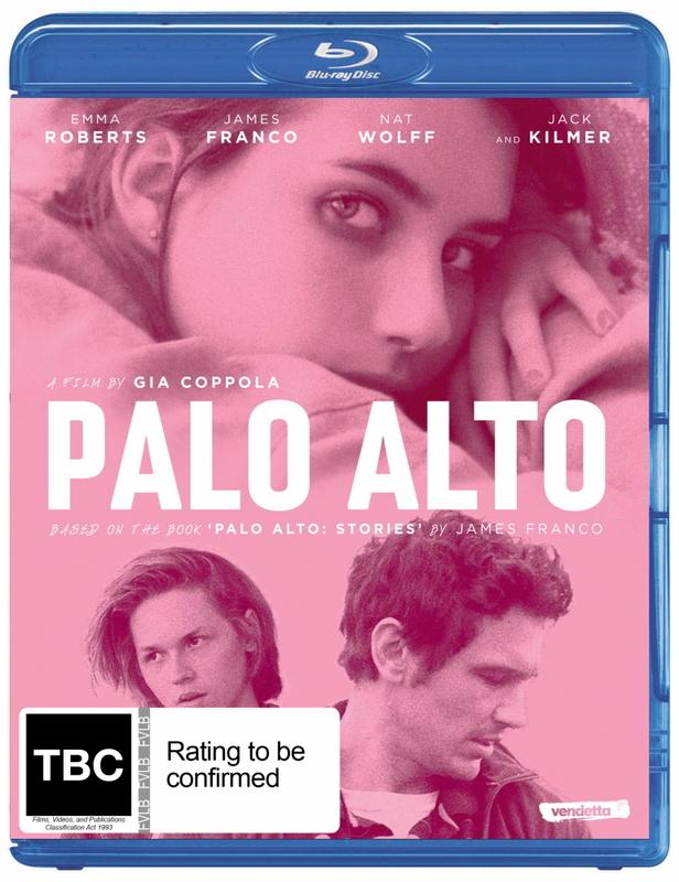 Palo Alto on Blu-ray