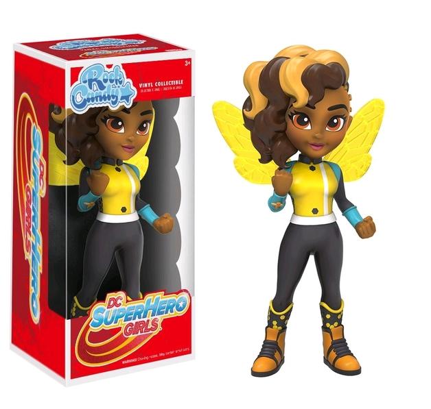 Super Hero Girls: Bumblebee - Rock Candy Vinyl Figure