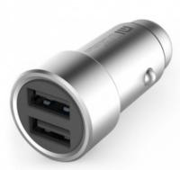 Xiaomi: Dual USB Car Charger (SIlver)