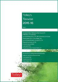 Tolley's Taxwise I 2015-16 by Rebecca Benneyworth image