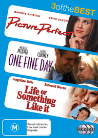 Picture Perfect / One Fine Day / Life Or Something Like It - 3 Of The Best (3 Disc Set) on DVD image