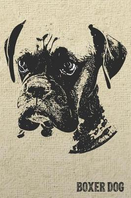 Boxer Dog Notebook by Pedigree Prints