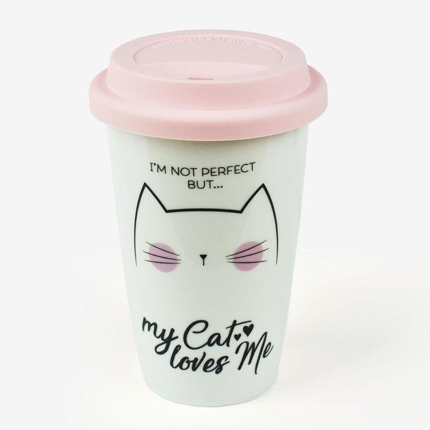 Legami Travel Mug - Cat
