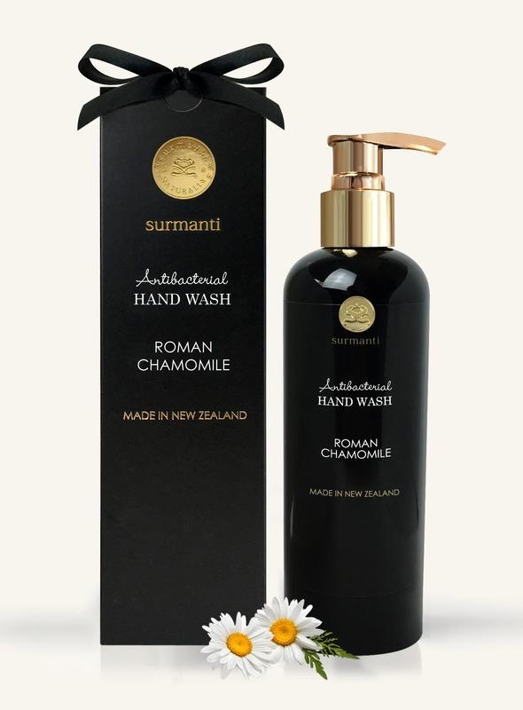 Surmanti Hand Wash Antibacterial Cleanser - Roman Chamomile (300ml)