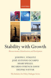Stability with Growth by Joseph Stiglitz