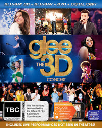 Glee - The 3D Concert on Blu-ray, 3D Blu-ray