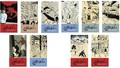 Tintin (classic) - Magnetized Bookmark Set 10