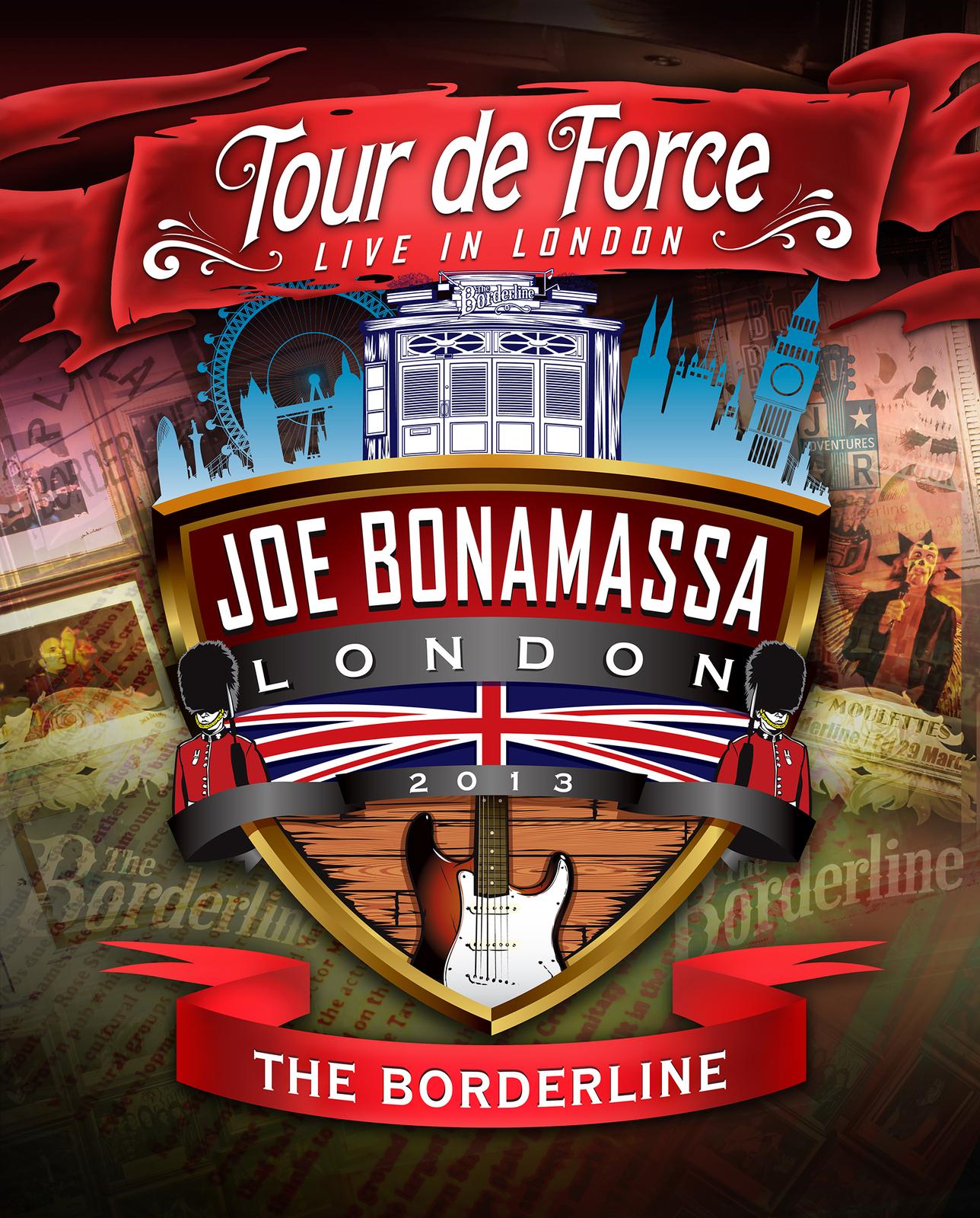 Joe Bonamassa Tour De Force: Live In London - The Borderline - Power Trio Jam on DVD image