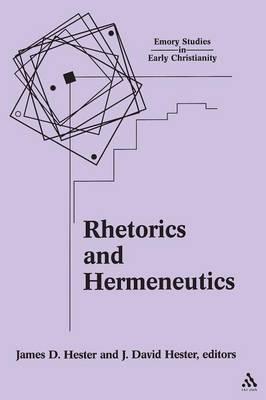 Rhetorics and Hermeneutics image