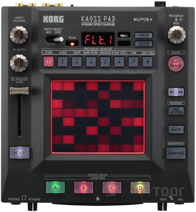 Korg KP3 Kaoss Pad 3+ Effects/Controller