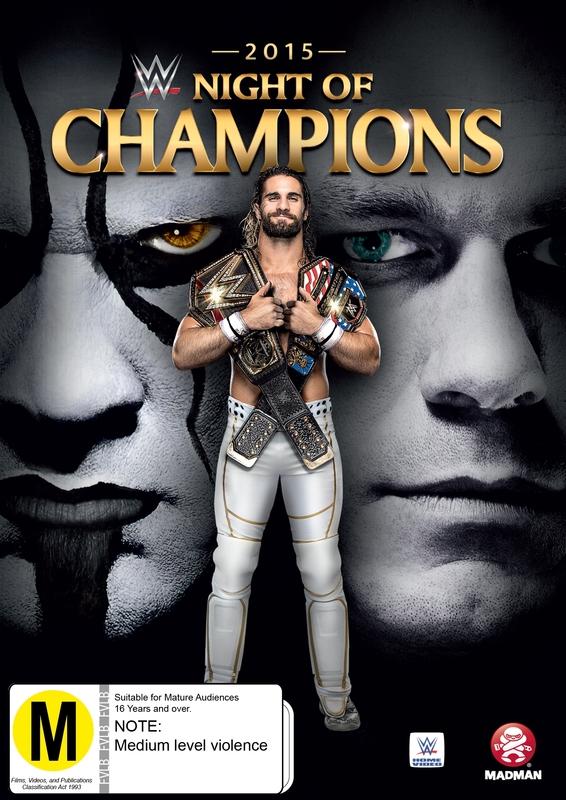 WWE: Night Of Champions 2015 on DVD