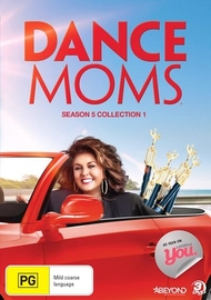 Dance Moms: Season 5 Collection 1 on DVD