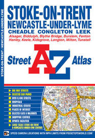 Stoke On Trent Street Atlas by Geographers A-Z Map Company