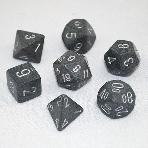 Chessex Speckled Polyhedral Dice Set - Hi Tech image
