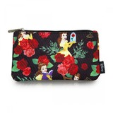 Loungefly Disney Beauty & The Beast Roses Pencil Case