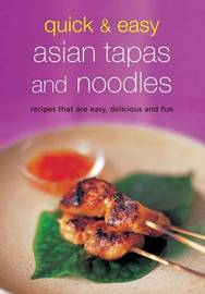 Quick and Easy Asian Tapas and Pasta image