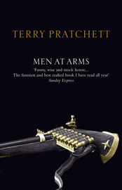 Men at Arms (Discworld - City Watch) (black cover) by Terry Pratchett image