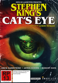 Stephen King's - Cat's Eye on DVD image