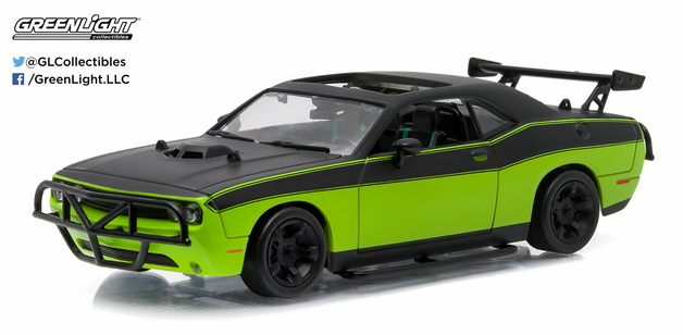 1/43: Dodge Challenger R/T - Fast & Furious - Diecast Model