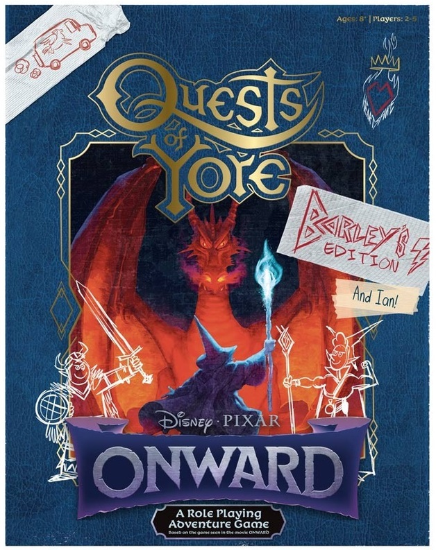 Onward: Quests of Yore - Barley's Edition