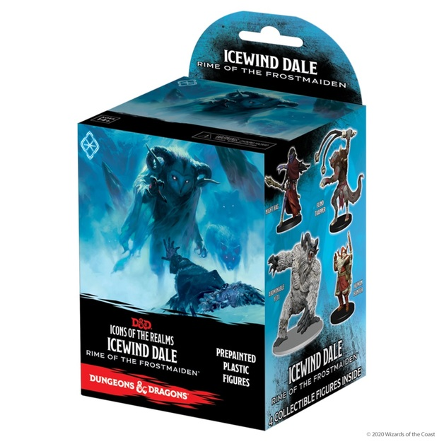 Dungeons and Dragons: Icewind Dale Rime of the Frostmaiden Booster Pack