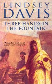 Three Hands in the Fountain by Lindsey Davis image