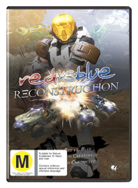 Red vs. Blue - Season Six: Reconstruction on DVD