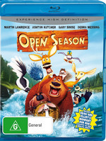 Open Season on Blu-ray