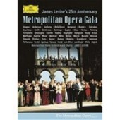 James Levine's 25th Anniversary :- Metropolitan Opera Gala (2 Disc Set) on DVD