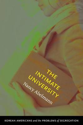 The Intimate University by Nancy Abelmann image