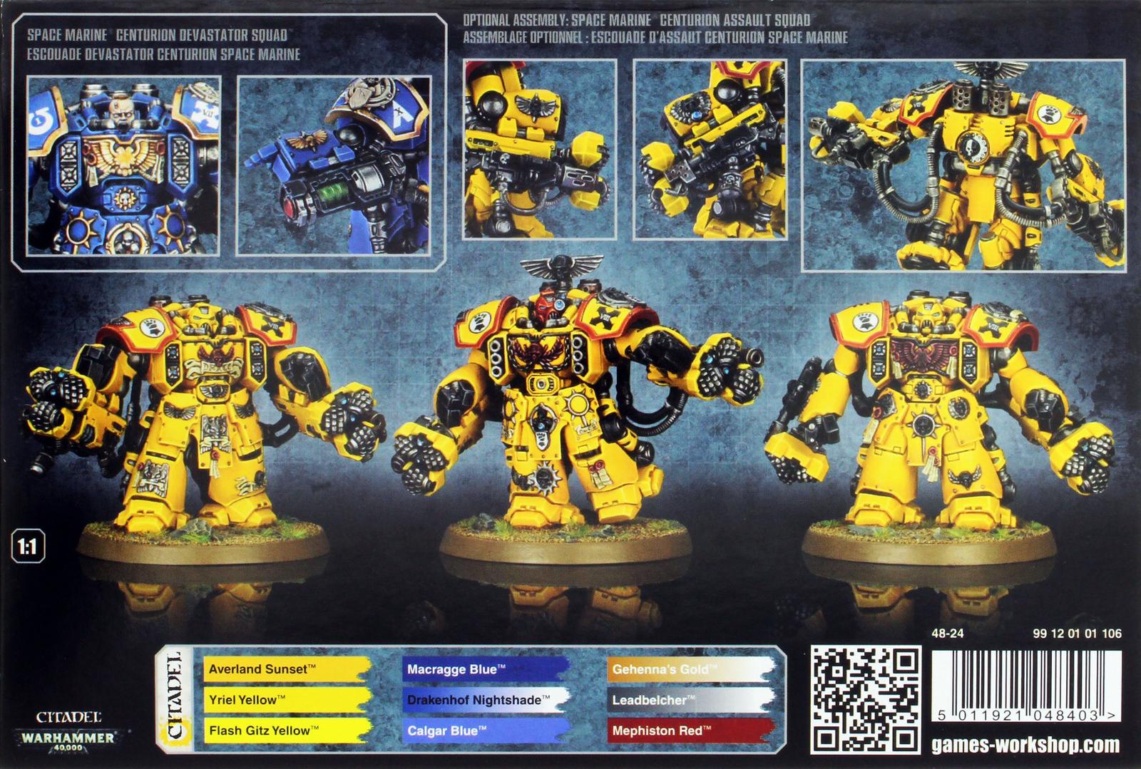 Space Marine Centurion Squad image