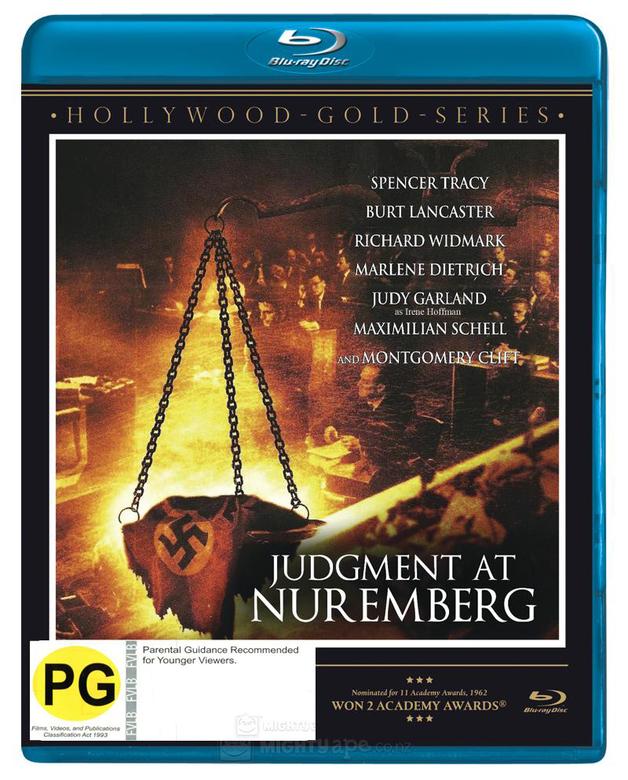 Judgment at Nuremberg on Blu-ray