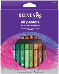 Reeves Oil Pastels Set of 24