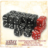 Army Painter Wargamer Dice: Black