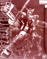 1/100 MG - FA-78-2 Heavy Gundam Model Kit