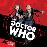 Doctor Who Comic Book 2017 Square Wall Calendar