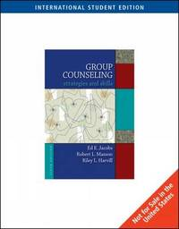 Group Counseling by Edward E. Jacobs image