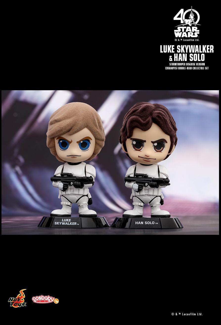 Star Wars - Luke & Han (Stormtrooper Disguise) - Cosbaby Set image