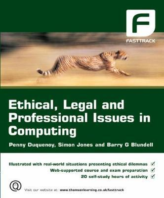 Ethical, Legal and Professional Issues in Computing by Penny Duquenoy image