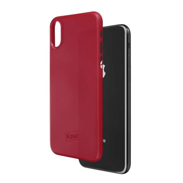 Kase Go Original iPhone X Slim Case- Lady in Red