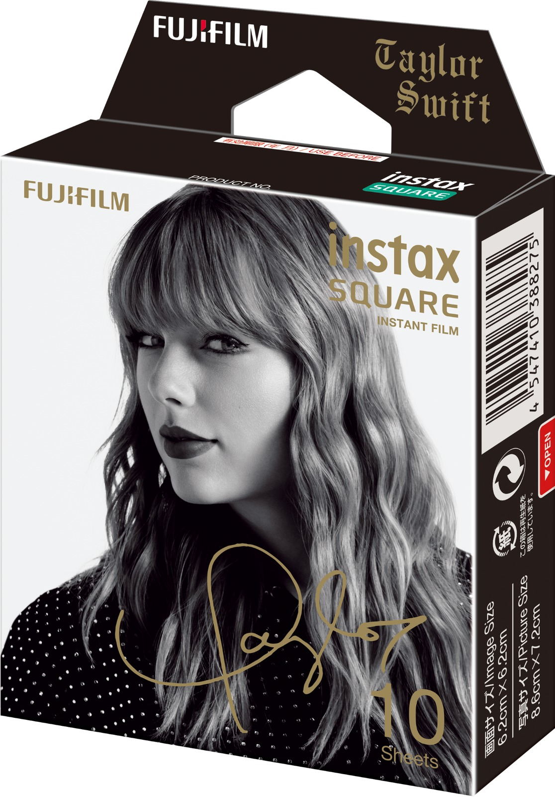 Fujifilm Instax Square Film Taylor Swift Edition - 10 Pack image
