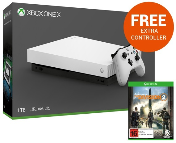 Xbox One X 1TB Tom Clancy's The Division 2 Console Bundle - White for Xbox One