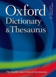 Oxford Dictionary and Thesaurus by Oxford Dictionaries image