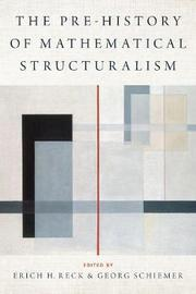 The Prehistory of Mathematical Structuralism