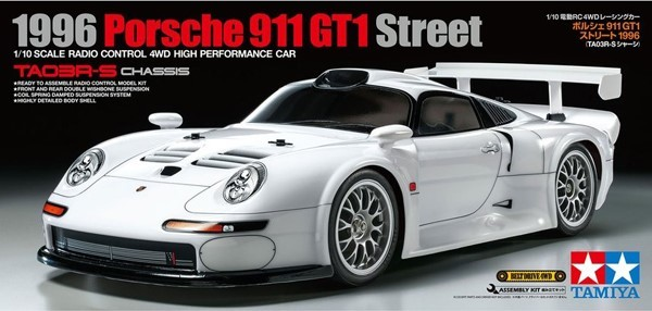 Tamiya 1/10 1996 Porsche 911 GT1 Street (TA03R-S)