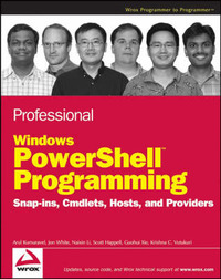 Professional Windows PowerShell Programming: Snapins, Cmdlets, Hosts and Providers by A. Kumaravel image